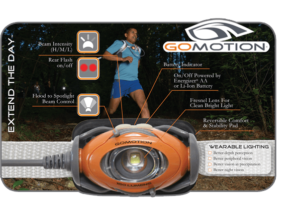 GoMotion Gear - Extend the day